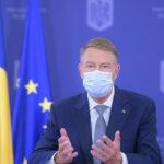 Klaus Iohannis: Din 15 mai se elimină portul măștii în exterior, cu câteva excepții, și restricțiile de circulație noaptea