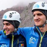 """Doi sportivi români, care văd împreună 1%, au cucerit cel mai înalt vârf din Europa: """"Mergeam și abia simțeam că pot să stau în picioare"""""""